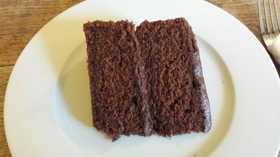 Shelly's Tea Rooms: Chocolate soft cake