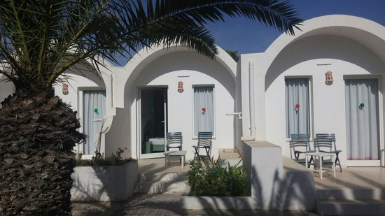 Hotel Meninx: Terrasse de chambre