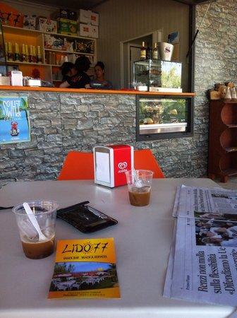 Pescoluse, Italie : Caffè Salentino al lido 77