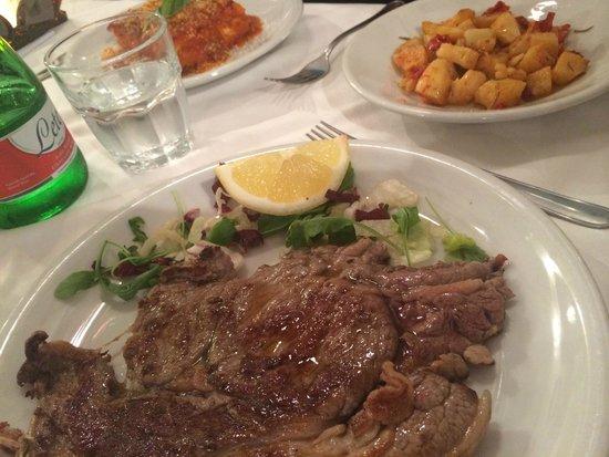 Osteria da Antonio: dejlig bøf!