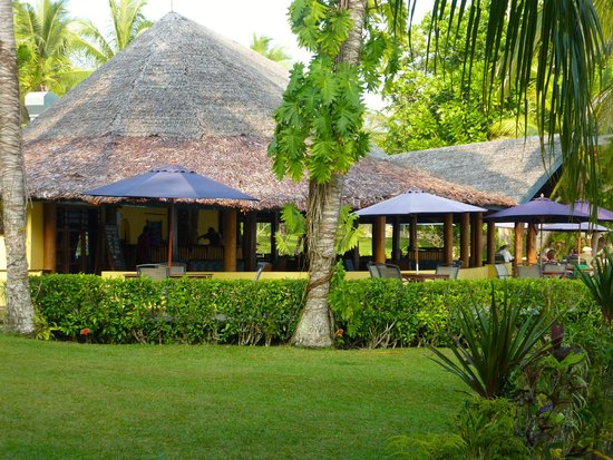 Aore Island Resort: Reception & Dining/Bar Area