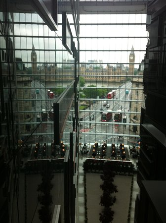 Park Plaza Westminster Bridge London: Il Big Ben dall'ottavo piano