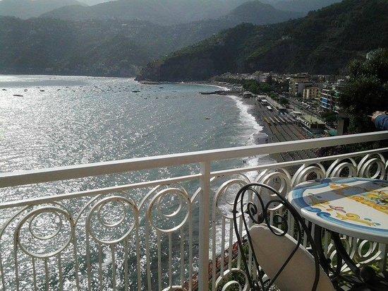 Hotel Club Due Torri: Vista stupenda dal terrazzo del 6° piano