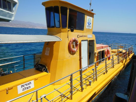 Underwater Observatory Marine Park : корабль