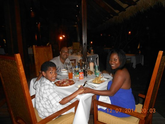 MAIA Luxury Resort & Spa: The perfect Dinner on My Birthday.