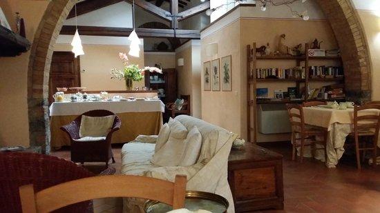 Aia della Colonna: Sala ristorante