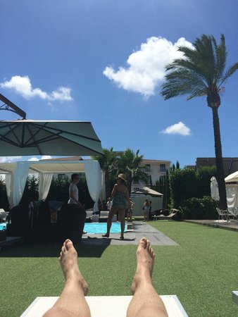 Hotel Giulia: Pool area - very nice!