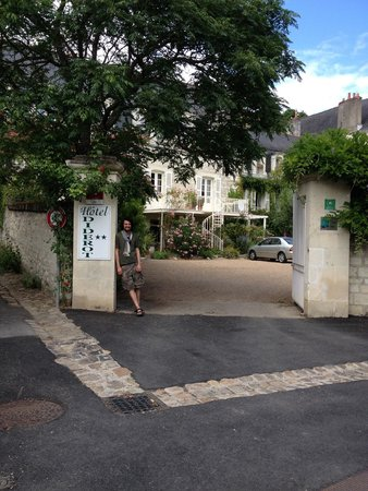 Hotel Diderot : Guesthouse entrance