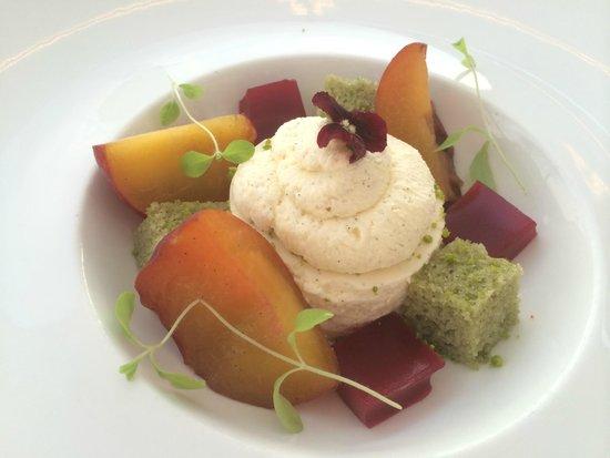 Saunton Sands Hotel: Peach Melba