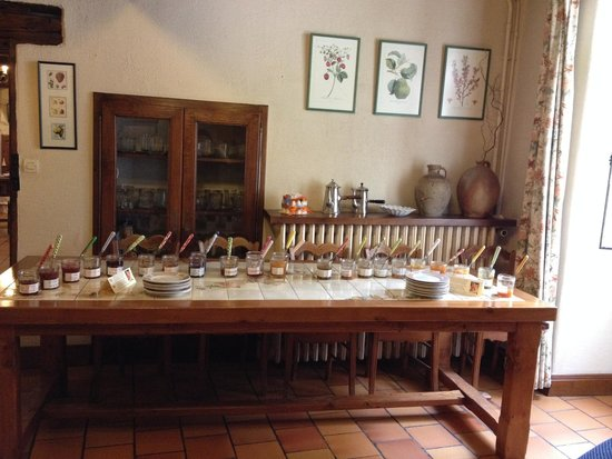 Hotel Diderot : Selection of jams
