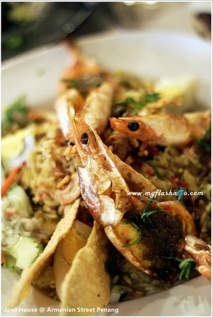 Jawi House Cafe & Gallery: Prawn Briyani