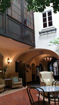 Hotel König Von Ungarn: Lounge