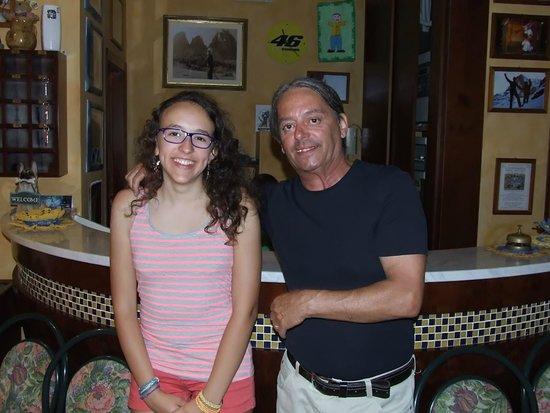 Hotel Consul Cattolica: Foto con il titolare Hotel