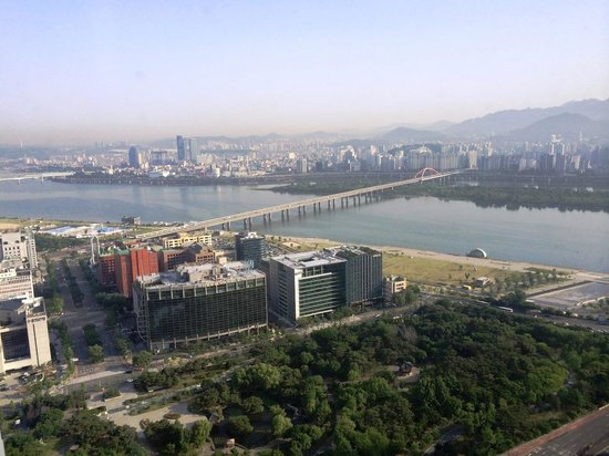 Conrad Seoul: View from executive lounge