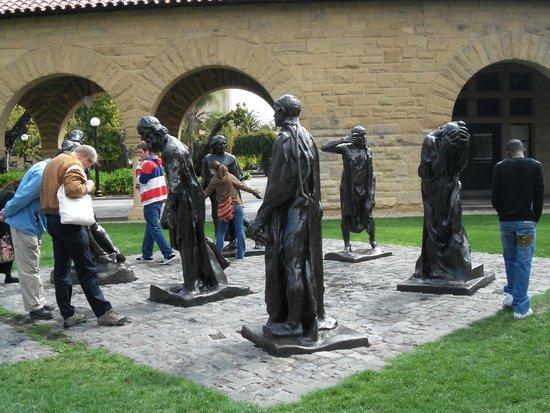 Stanford University: Statue