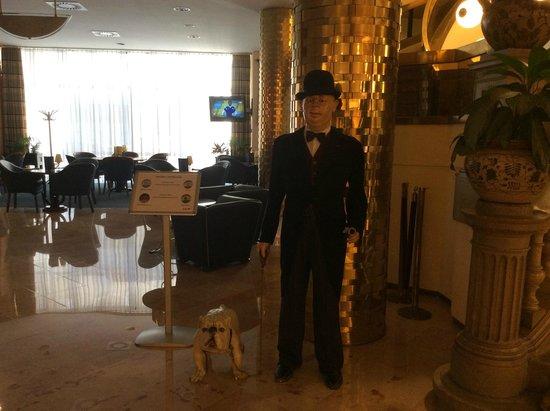 Radisson Blu Beke Hotel, Budapest: loby