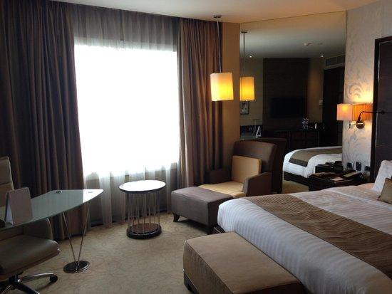 Pullman Bangkok Grande Sukhumvit: ベッドルーム