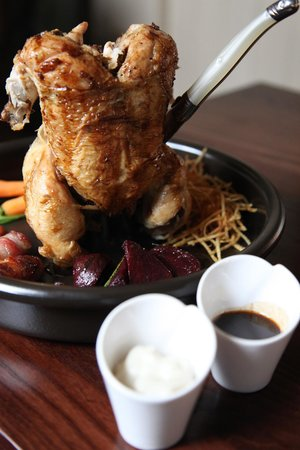 The Windmill by Richard Phillips: Whole roast chicken