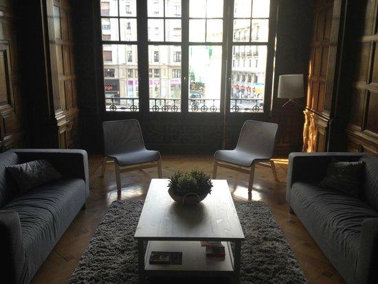Hostel Como en Casa: living