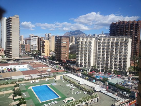 Riudor Hotel Benidorm: View from room 715