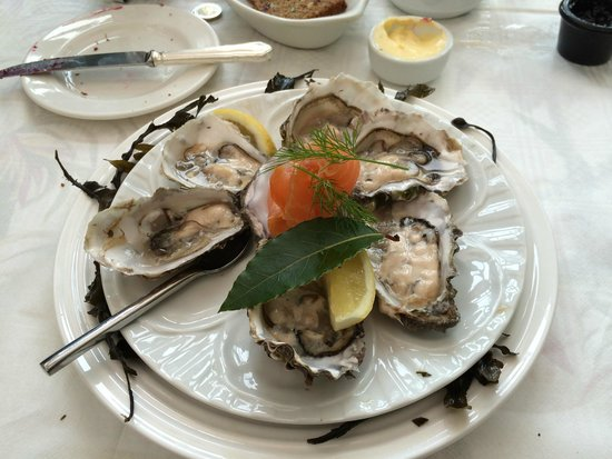 The Quay House: Oyster breakfast