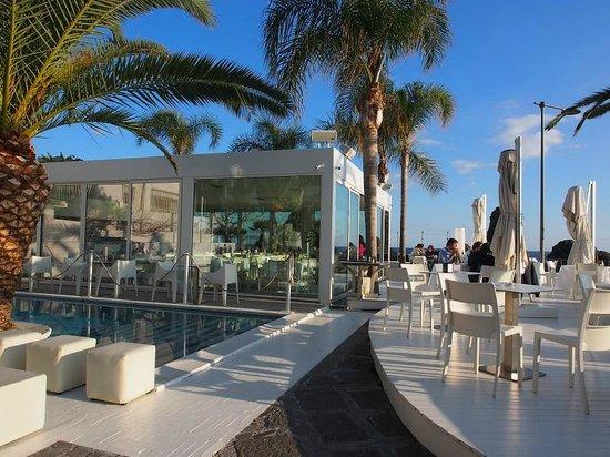 Il giardino dinverno - Picture of Sicilias Cafe de Mar, Acitrezza -...