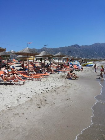 Sovereign Beach Hotel: la spiaggia