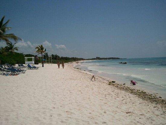 TRS Yucatan Hotel: playa de ensueño