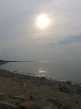 Gut am Strand - Teichhof Fehmarn: Sonnenuntergang