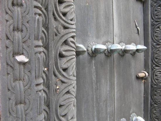Fort Jesus Museum: One of many beautiful Swahili Doors