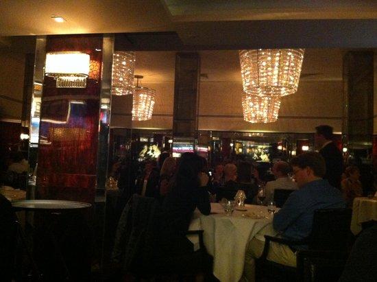 The Savoy Grill : I lampadari vintage