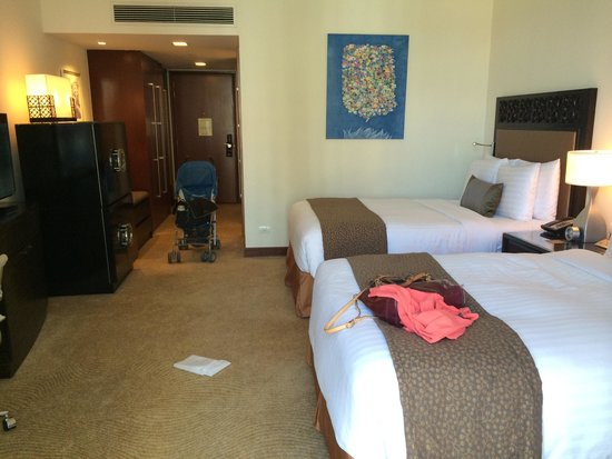 Fairmont Makati: Standard room