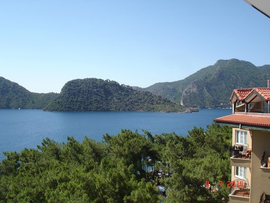 Grand Yazici Club Marmaris Palace: View from 5th floor room number 452