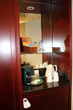 Brussels Marriott Hotel Grand Place: Tee/Kaffee