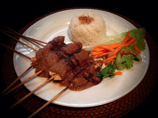 The Chicken satay's at Sammy's are my favourites!