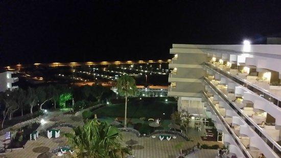Aguamarina Golf Hotel: Vue de la chambre 4eme étage (Face mer)