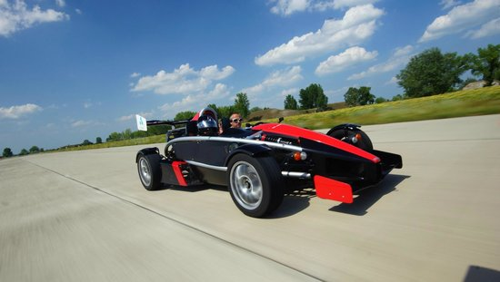 Ariel Atom high speed test driving - over 200km/h - Picture of ...