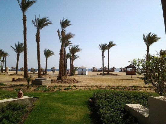 Siva Port Ghalib : view from out of our seaside room