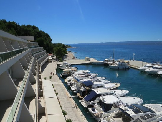 Le Meridien Lav Split: The Marina along the hotel