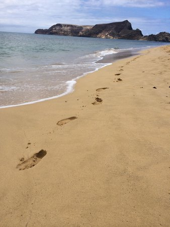 Pestana Porto Santo All Inclusive: Beach prints