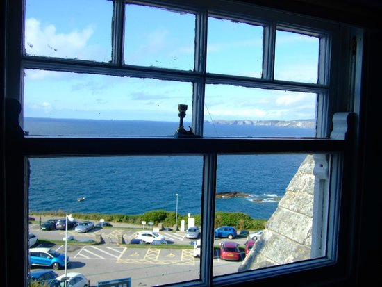 The Bay Hotel: View from bathroom window
