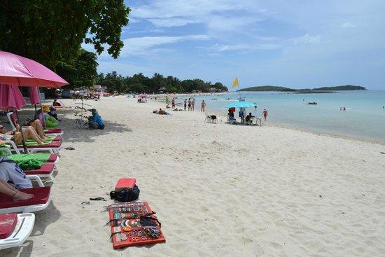 Baan Samui Resort : beach