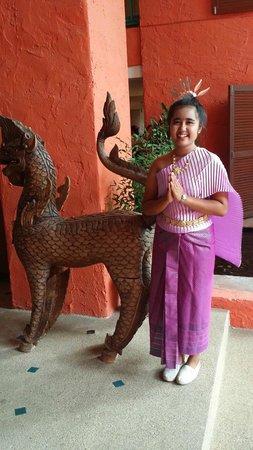 Baan Samui Resort: Thai traditional dress