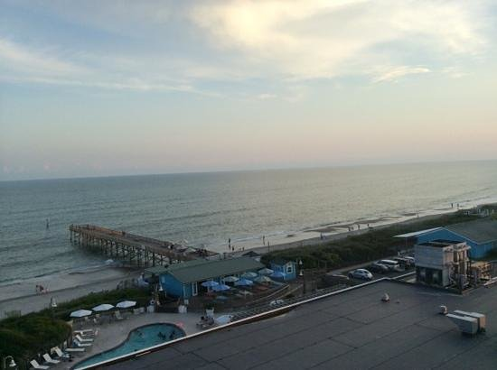 DoubleTree by Hilton Hotel Atlantic Beach Oceanfront: view from 719 balcony