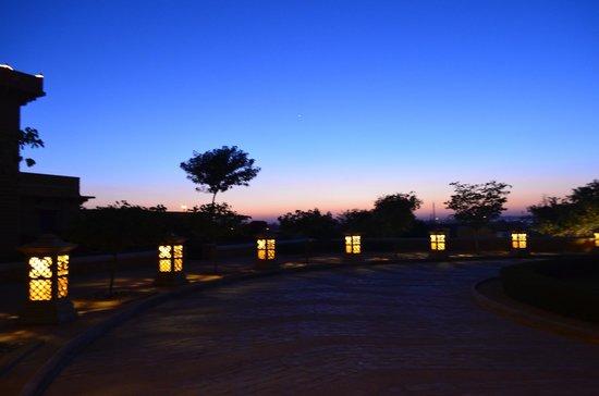 Hotel Rawalkot Jaisalmer: Dusk