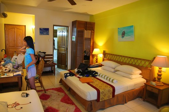 Fihalhohi Island Resort: Our Premier room