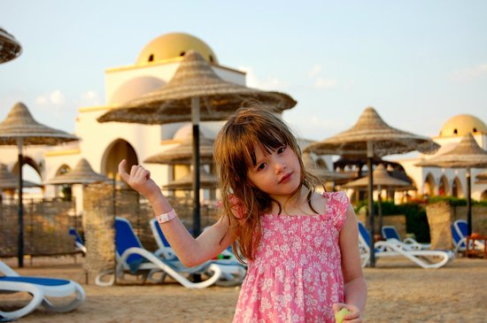 Old Palace Resort: on the beach