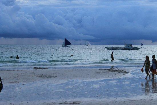 White Beach: beautiful beach view...