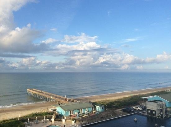 DoubleTree by Hilton Hotel Atlantic Beach Oceanfront: great view