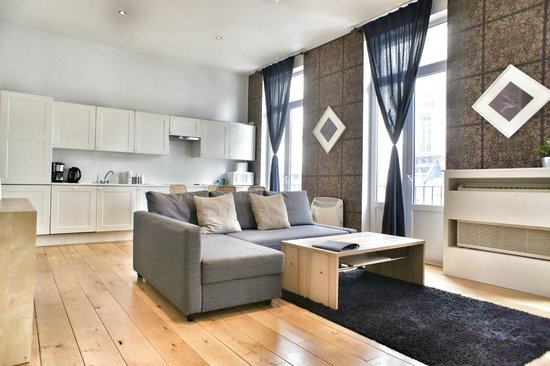ApartmentsApart Brussels: living room